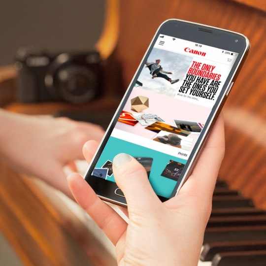 Canon Launches Free Photo Printing App To Make It Even Easier To Turn
